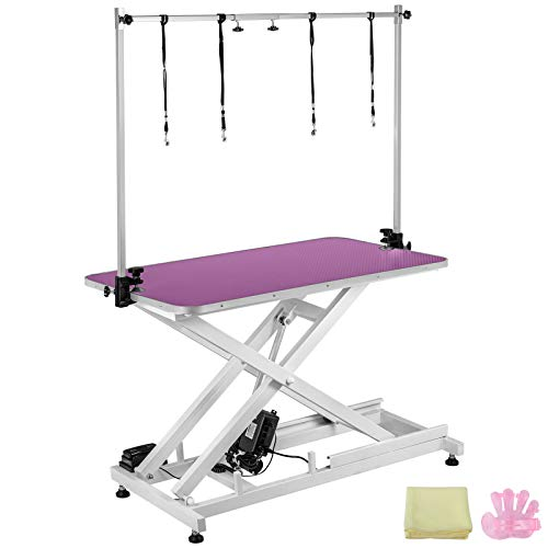 Happybuy Electric Grooming Table Heavy Duty...