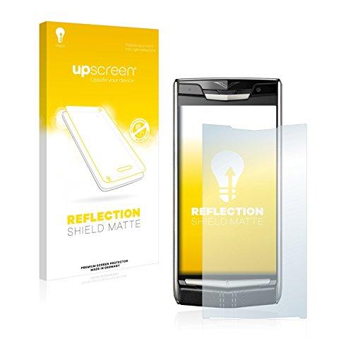 upscreen Entspiegelungs-Schutzfolie kompatibel mit Vertu New Signature Touch – Anti-Reflex Bildschirmschutz-Folie Matt