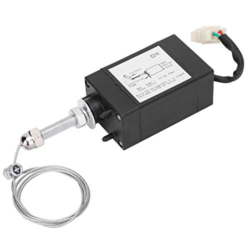 XHQ‑PT Solenoid Valve, Solenoid Valve, 90N-110N Pull Force High‑strength for Stop Control of Generator Engine