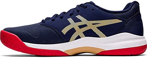 ASICS Men's Gel-Game 7 Tennis Shoes, 6, Peacoat/Peacoat