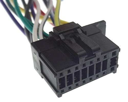 Pioneer (21) Cavo adattatore per radio AVH MVH, cavo di collegamento ISO per cablaggio DIN