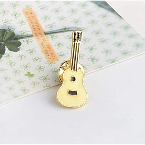 CCJIAC Hut Gitarre Kaktus Emaille Lippen Wein Zigarette Spiele Augen Abzeichen Metall Mädchen Jeans Tasche Dekoration Geschenk Modeschmuck