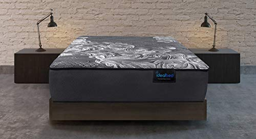 iDealBed iQ5 Luxury Hybrid Mattress, Medium Soft, Smart Adapt Hybrid Foam & Coil System for Temperature Regulation, Pressure Relief, and Support, Made in USA, 10 Year Warranty (Queen)