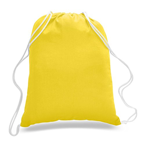 Promotional Priced Cotton Drawstring Bags Backpacks Art Craft