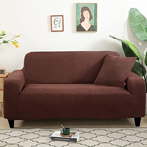 WXQY Funda de sofá elástica con patrón de Lino de imitación, Funda de sofá elástica para Sala de Estar, Funda de protección para Muebles de sillón A20, 1 Plaza