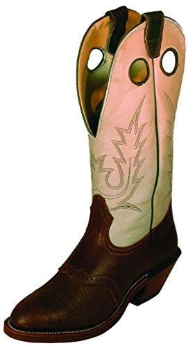 Soul Rebel Bota americana – Botas de Cowboy BO-0030-76-C (pie normal), color marrón