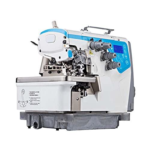 FFYUE Máquina De Dobladillo Inteligente Industrial Completamente Automática, Máquina De Coser Overlock De Computadora, Adecuado para Dobladillo De Ropa, Pantalones, Toallas, Etc.