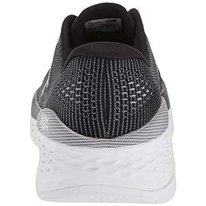 New Balance Men's Fresh Foam More V1 Running Shoe, Black/Orca, 9.5 W US