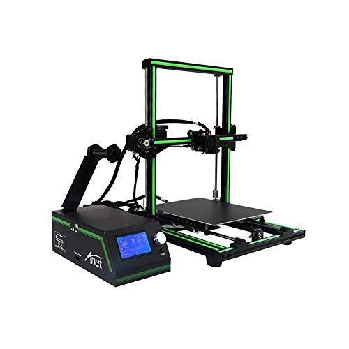 Imprimante 3D Assemblage Rapide Aluminium 3D Printer Prusa I3 Kit avec Une Tailled'impression De 220X220x260mm,Reprise du Travail en Cas De Panne Électrique (3S Touchscreen)