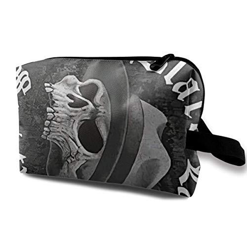Black Label Society Cosmetic Case Travel Cosmetic Bag Portable Travel Bag Art Storage Bag