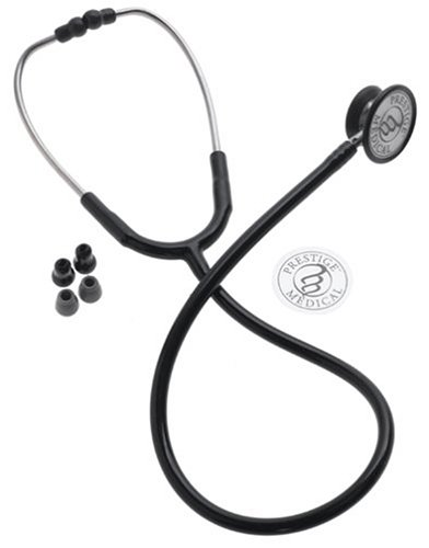 Prestige Clinical I Black Stethoscope