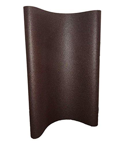 "Sungold Abrasives 67773 Aluminum Oxide 80 Grit X-Weight Cloth Wide Sanding Belt (Box of 2), 37""X75"","