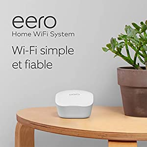 Système Wi-Fi maillé (mesh) Amazon eero, lot de 3 appareils