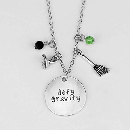Fashion Jewelry Harley Quinn Necklace Alloy Pendant Necklace Suicide Squad Jewelry Men Women Personality Earring Joker Necklace (B)
