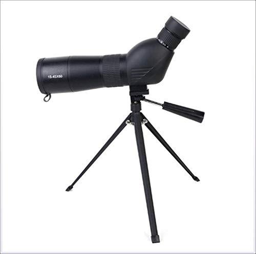 XHLLX 45 * 60 Al Aire Libre Astronómico Telescopio Monocular Montañas Campamento Observación De La Lente Objetiva Triángulo De Soporte del Ocular De Alta Definición De Alta Definición