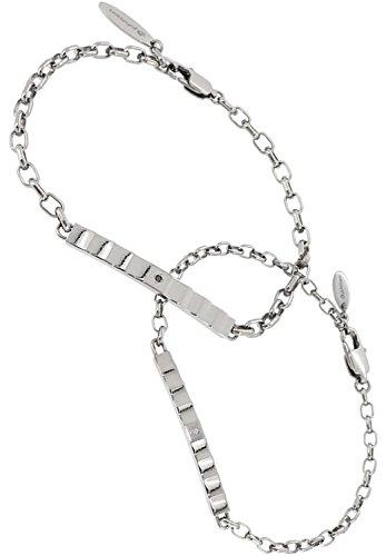 [フェフェ]fe-fe×phiten [特 別 仕 様] ファイテン ジャギー プレート ダイヤモンド ペア チタン スポーツ ブレスレット カップル