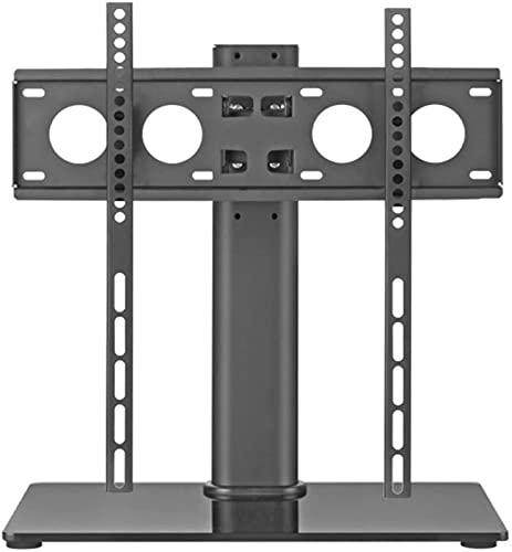 GWDFSU Soporte de TV con Pedestal de Mesa en voladizo Giratorio Universal Soporte de TV de Mesa Universal para televisores de 32'-55' Sostiene 40Kg MAX 400X400mm Montaje de Altura Ajustable