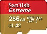 サンディスク microSD 256GB UHS-I U3 V30 書込最大90MB/s Full HD & 4K SanDisk Extreme SDSQXA1-256G-EPK エコパッケージ