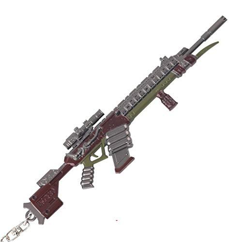 Legend 1/6 Metal Longbow DMR Rifle Modelo Juego Llavero Llavero Figura de Acción Artes Juguetes Colección Regalo