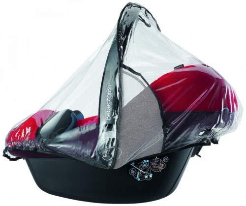 Bébé Confort Habillage Pluie pour siège Auto Cosi Bébé, Transparent avec Aération, de 0 à 12 Mois