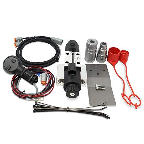 Universal Hydraulic Third Function Valve Kit w/Joystick Handle & Bracket 15 GPM