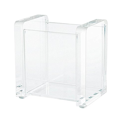 Wedo 604016 Acryl Stifte-Köcher (Cristallic, 2 Fächer) glasklar