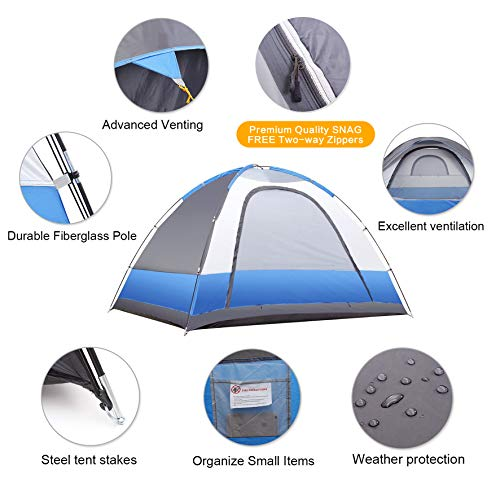 best four person tent