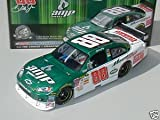 Motorsport Authentics/Action Dale Earnhardt Jr #88 Green & White AMP Energy 1/24 Scale Diecast Opening Hood, Trunk, Roof Flaps Car of Tomorrow COT Rear Wing Front Splitter 2008 (AKA Action Racing)