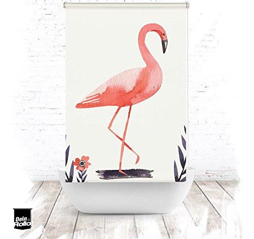 ERSATZ KLEINE Wolke Duschrollo für Leerkassette Flamingo Textil Badewanne