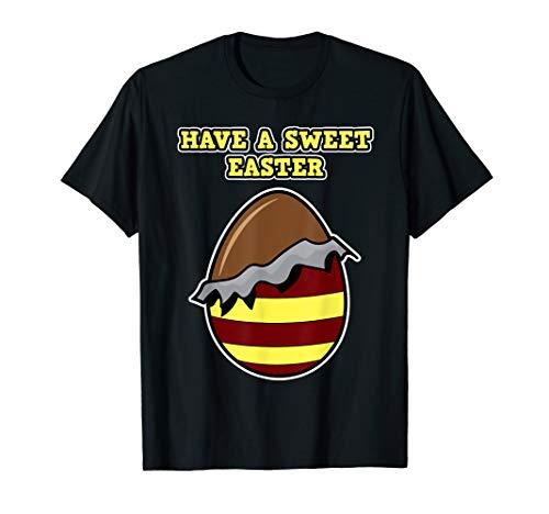 Oster-Schokolade Shirt für Damen - Have a Sweet Easter T-Shirt
