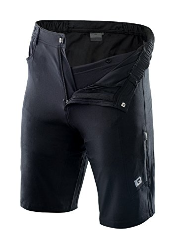 Intelligence Quality Herren Maitre Cycling Shorts, Black, M - 4