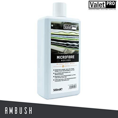 ValetPRO Microfibre Reviver 500ml Mikrofaser-Reiniger Waschmittel Microfasertuch