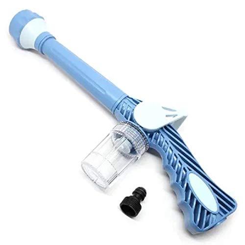 IUDE 8 In 1 Multifunctional Garden Watering Nozzle, Pressure Garden Hose Nozzle Car Foam Wash Gun with Soap Dispenser for Courtyard, Gardening, Home, car Washing