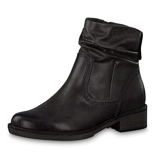 Tamaris Damen Stiefeletten 26434-23, Frauen Stiefelette, leger Stiefel Boots halbstiefel Damenstiefelette Bootie gefüttert,Anthracite,41 EU / 7.5 UK
