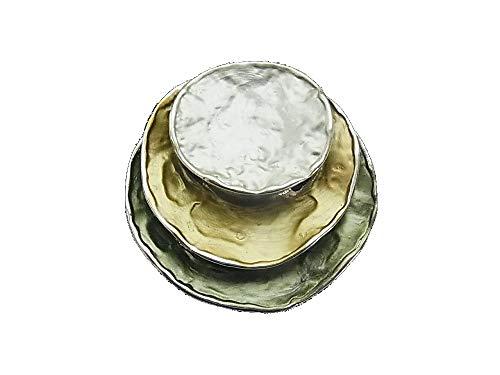 Brosche Magnetbrosche Schal Clip Bekleidung Poncho Taschen Stifel Textilschmuck Grünetöne Matt