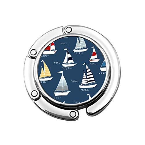Boot Schiff Fluss Seetransport Handtaschenhalter Für Schreibtisch Moderner Handtaschenhalter Einzigartige Designs Faltbarer Bereich Aufbewahrungsbeutelhalter Für Mädchen