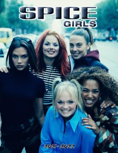 Spice Girls Calendar 2021-2022: 16-Month Poster Agenda For Home, Office Supplies