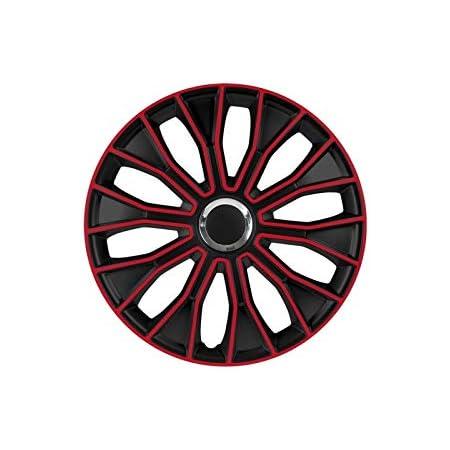 Unbekannt Setz Radzierblenden Petex Mit 35 56 Cm 14 Zoll Voltec Pro In Schwarz Rot 1350 3528 Auto