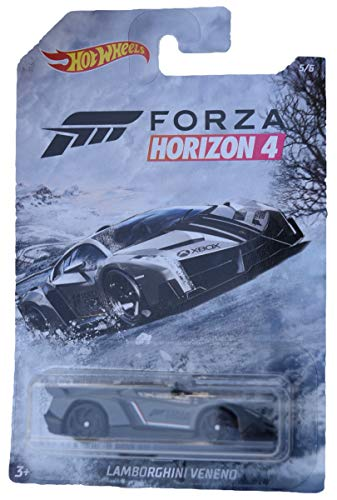 Hot Wheels Forza Horizon 4 Lamborghini Veneno 5/6, gris