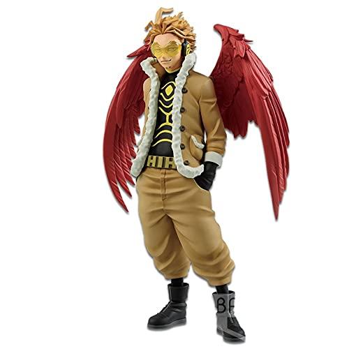 Banpresto My Hero Academia - Hawks & Red Riot - Figurine Age of Heroes 17cm BP16716