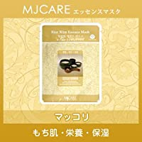 MJCARE (エムジェイケア) マッコリ エッセンスマスク 1枚