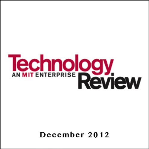 Audible Technology Review, December 2012 cover art