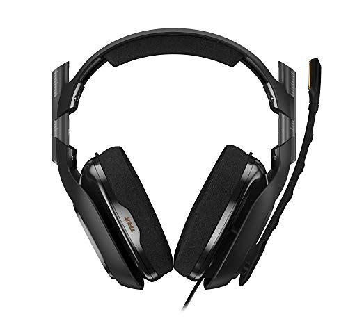 ASTRO Gaming A40 TR Gaming Headset for PC, Mac - Black (2017 Model)
