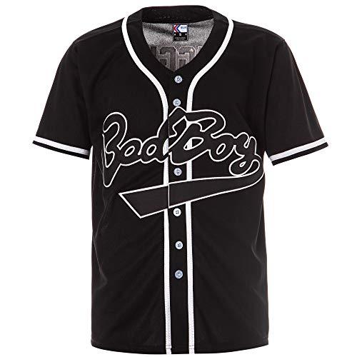 MOLPE Bad Boy #10 Biggie Baseball Jersey S-XXXL Black (S)