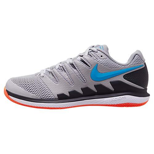 Nike Air Zoom Vapor X HC, Scarpe da Tennis Uomo, Multicolore (Vapste Grey Indigo Force 044), 45 EU