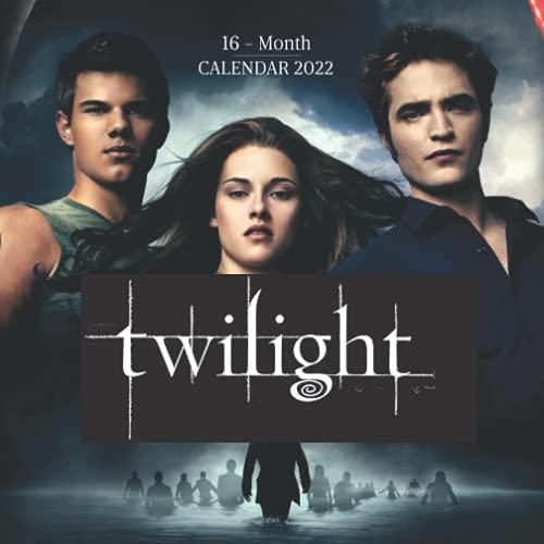 Twilight 2022 Calendar: Great Mini 16-month Calendar for fans