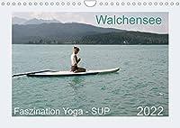 Faszination Yoga - SUP (Wandkalender 2022 DIN A4 quer): Yoga Uebungen mit SUP auf dem Walchensee (Monatskalender, 14 Seiten )