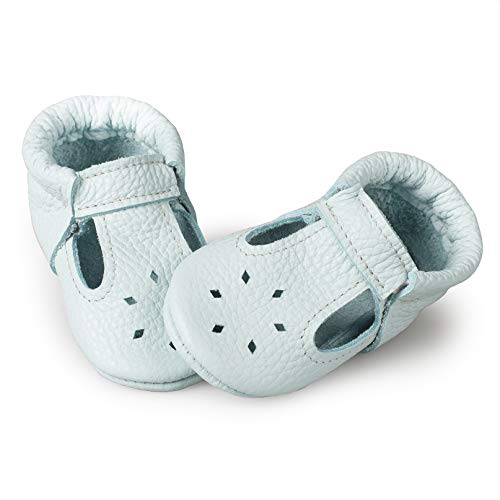Littlebeemocs T-Strap Baby Moccasins