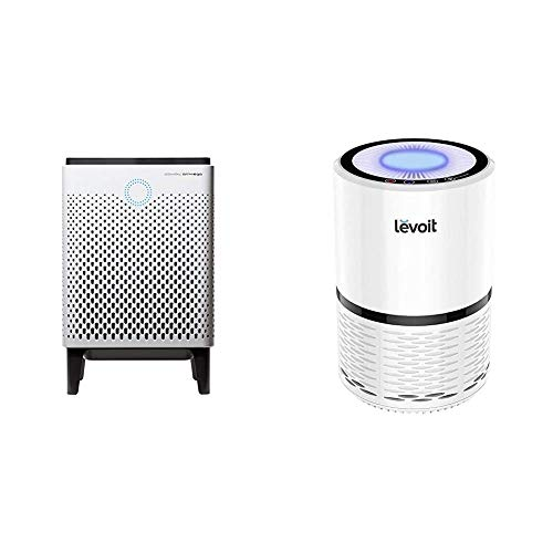 the best air purifiers for 2021 Coway Airmega 300 Smart Air Purifier with 1,256 sq. ft. Coverage & LEVOIT H13 True HEPA Filter Air Purifiers, Large Room with Optional Night Light, LV-H132