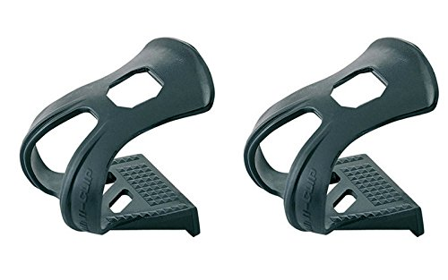 Onogal 2X Calapies Punteras de Nylon Para Pedales Bicicleta Mtb Trekking Carretera 3038